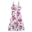 Girls' Floral A-Line Sundress