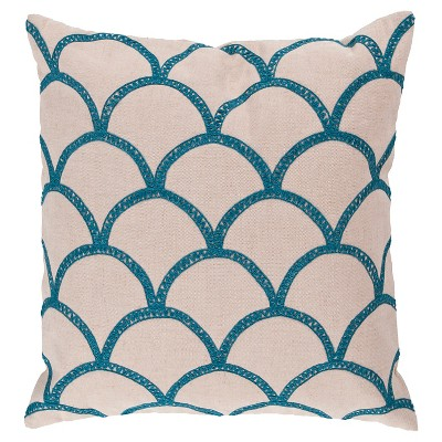 "Asti Oval Pillow 22"" x 22"""