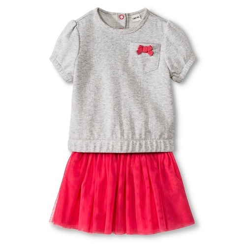 Baby Girls Cherokee Dress Set Playful Coral