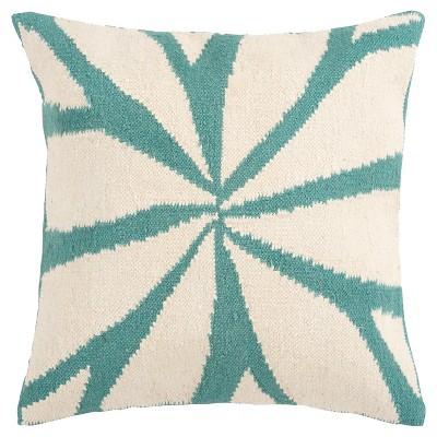 """Asarina Leaf Pillow 22"""" x 22"""""""