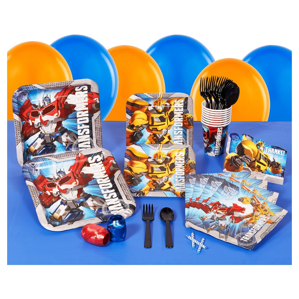 Transformers Basic Party kit - (Pack Of 8), Multi-Colored