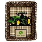 John Deere Tractors Are For Girls No-Sew Fleece Kit