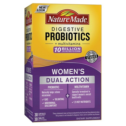 Digestive health probiotic by nature made tripleflex