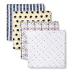 Orla Kiely by aden + anais® swaddleplus® 4-pack - Elephants