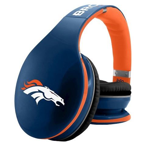 denver broncos bluetooth headphones by ihip with target. Black Bedroom Furniture Sets. Home Design Ideas