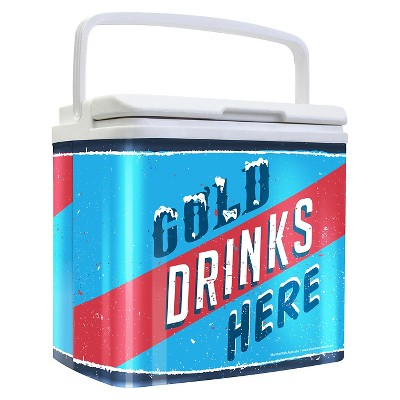Ecom Cooler LIFE! 18quart Multi-colored