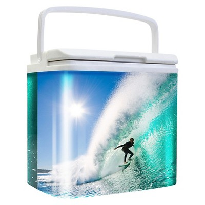 Retro 24 Can Cooler - Surfing