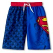 Superman Boys' Swim Trunk
