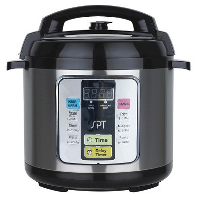 Sunpentown Electric Pressure Cooker (6.5 Qt)