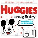 2 Pack HUGGIES Snug & Dry Diapers