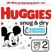 HUGGIES® Snug & Dry Diapers Super Pack - Size 2  (140 Count)