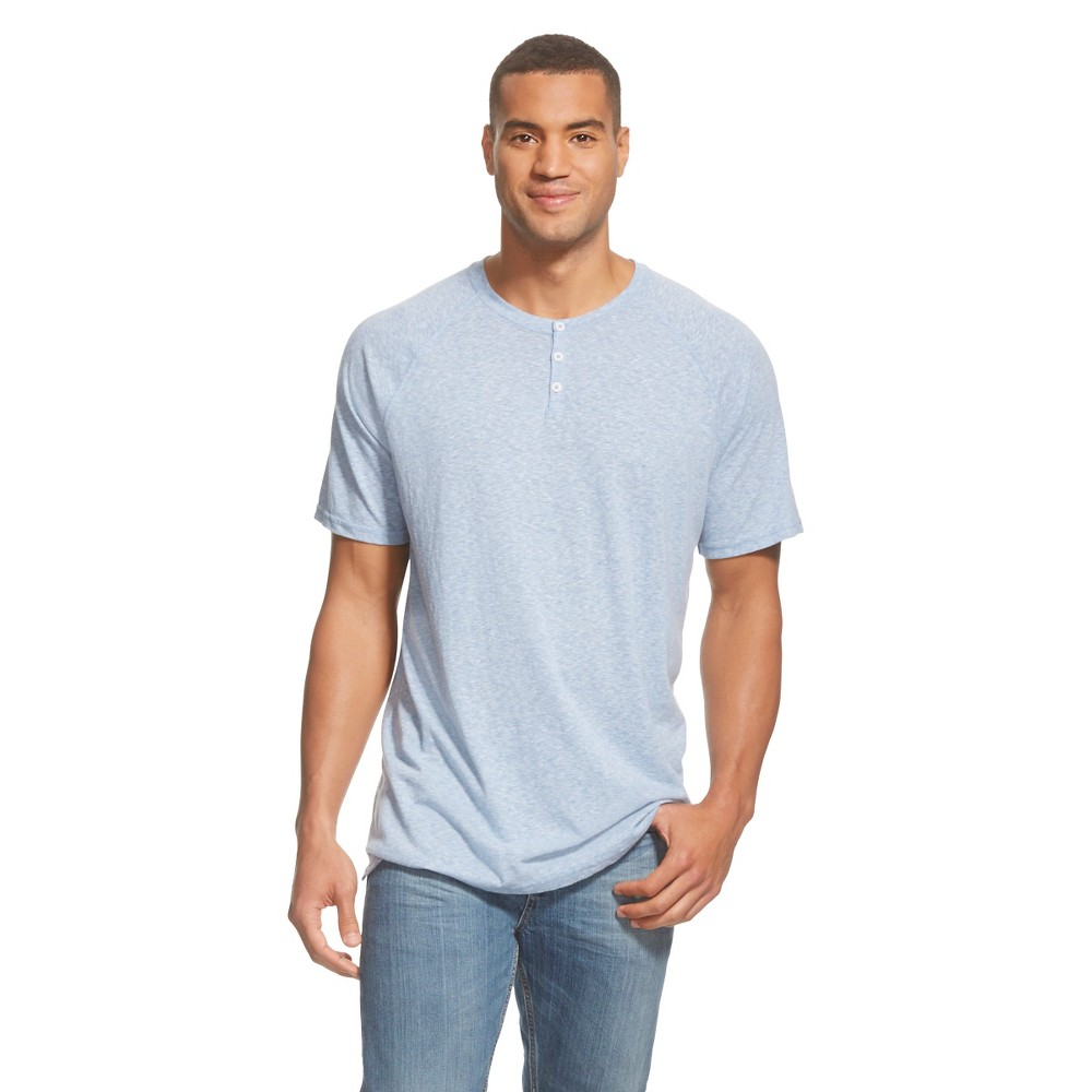 Men's Big & Tall Short Sleeve Henley Shirt - Mossimo ...