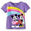Disney&#174 Toddler Girls' Mickey & Minnie Tee