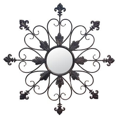 CKK Regency Wall Mirror - Bark