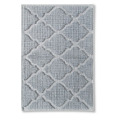 "Woven Solid Bath Mat - Silver Foil (21x30"") - Threshold™"