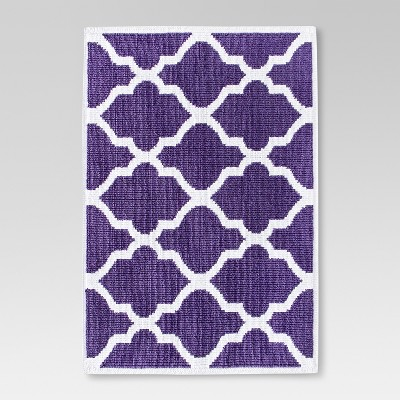 "Woven Bath Mat - Grape Fizz (21x30"") - Threshold™"