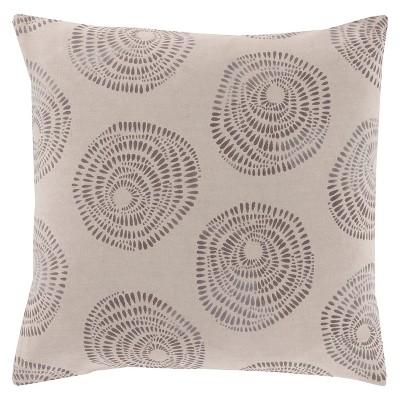 "Danica Floral Pillow 18"" x 18"""
