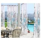 Outdoor Décor Orchid Indoor/Outdoor Sheer Curtain