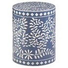 Mosaic Drum Table - Navy