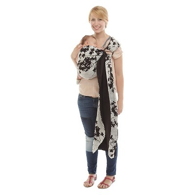Rockin' Baby Beautiful Day Reversible Baby Sling - Black & White Floral