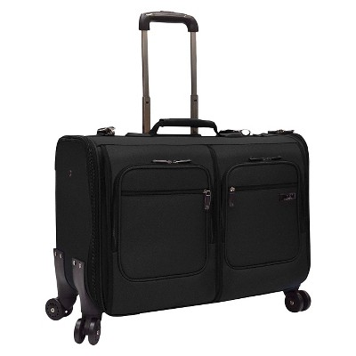 U.S. Traveler Stimson Spinner Garment Bag - Black