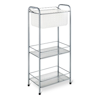 Bath Storage Racks with Removable Tote Frost Room Essentials™