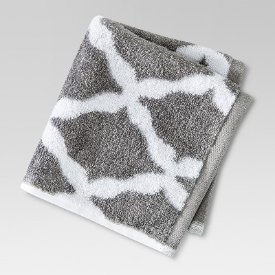Threshold™ Brights Washcloth - Cloak Gray