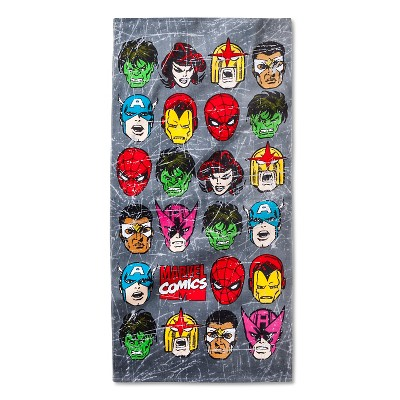 Marvel Beach Towel - Multi-Colored