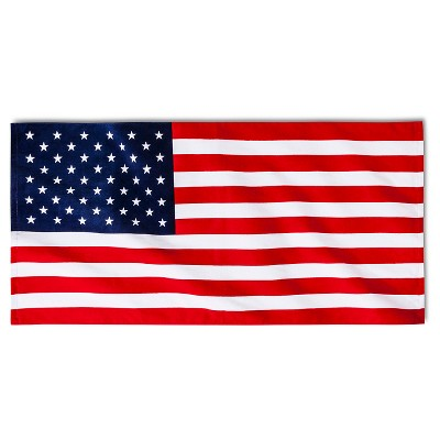 American Flag Beach Towel - Red/White/Blue