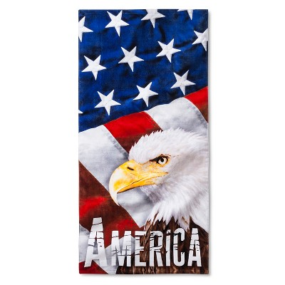 American Eagle Beach Towel - Multi-Colored