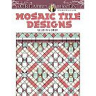 Creative Haven Mosaic Tile Designs Adult Coloring Book