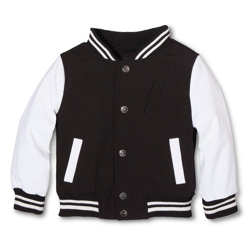 Kids Personalized Varsity Jacket: The junior varsity squad can get a head start on achieving varsity status right here. This classic letterman jacket features all the timeless details you might remember on your own jacket: a rugged body, quilted lining, ribbed-knit trim and angled pockets.