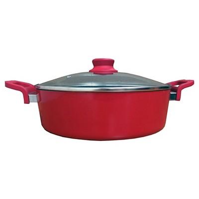 "12"" Red Arrocera & Guiso Pot by  Aarón Sánchez"