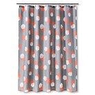 Room Essentials&#153&#x3b; Dots Shower Curtain - Gray Mist