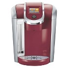 Keurig 2.0 K400 Coffee Maker Brewing System with Carafe- Red