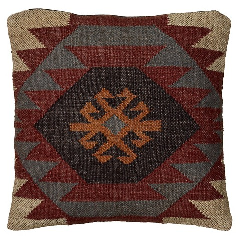 Rizzy Home Textured Southwestern Stripe Pillow -... : Target