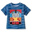 Thomas the Tank Engine Toddler Boys Graphic Block Tee - Blue