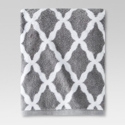 Brights Bath Towel Cloak Gray Accent - Threshold™