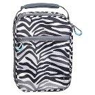 Crushproof Lunch Box 420D Hex Ripstop regular Poly Print Zebra Size:7.25in H x 10.25in W x 3.5in D - Embark™