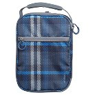 Crushproof Lunch Box 420D Hex Ripstop regular Poly Print Plaid Size:7.25in H x 10.25in W x 3.5in D - Embark™