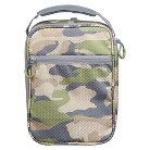 Embark Crushproof Lunch Box 420D Hex Ripstop regular Poly-Print Camo Size:7.25in H x 10.25in W x 3.5in D