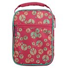 Circo™ Crushproof Lunch Box 420D Hex Ripstop regular Poly-Print Peace Size:7.25in H x 10.25in W x