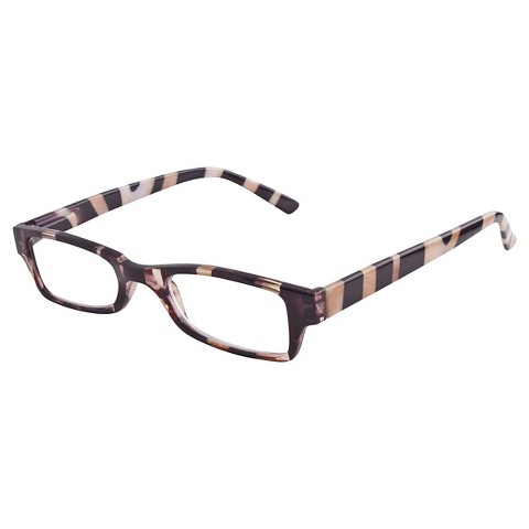 icu eyewear reading glasses rectangle zebra sa target