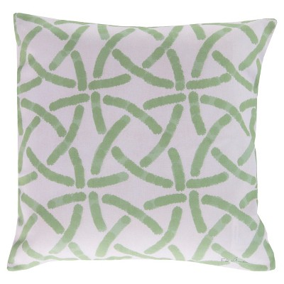 "Surya Adrastea Geometric Pillow 18"" x 18"""