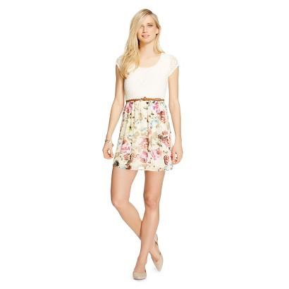 Skater Dress w/ Belt - Lily Star