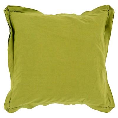 "Zollikon Solid Toss Pillow 20"" x 20"""