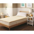 Threshold&#153&#x3b; Memory Foam Mattress Topper - Beige (Twin Extra Long)