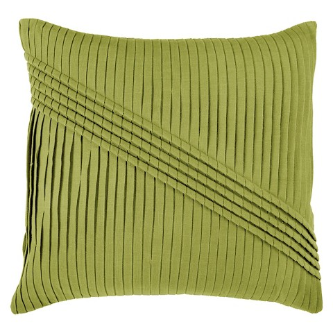 Decorative Pillows For Couch Target : Rizzy Home Pleated Decorative Throw Pillow : Target