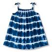 Girls' Tie Dye Sun Dress - Nightfall Blue