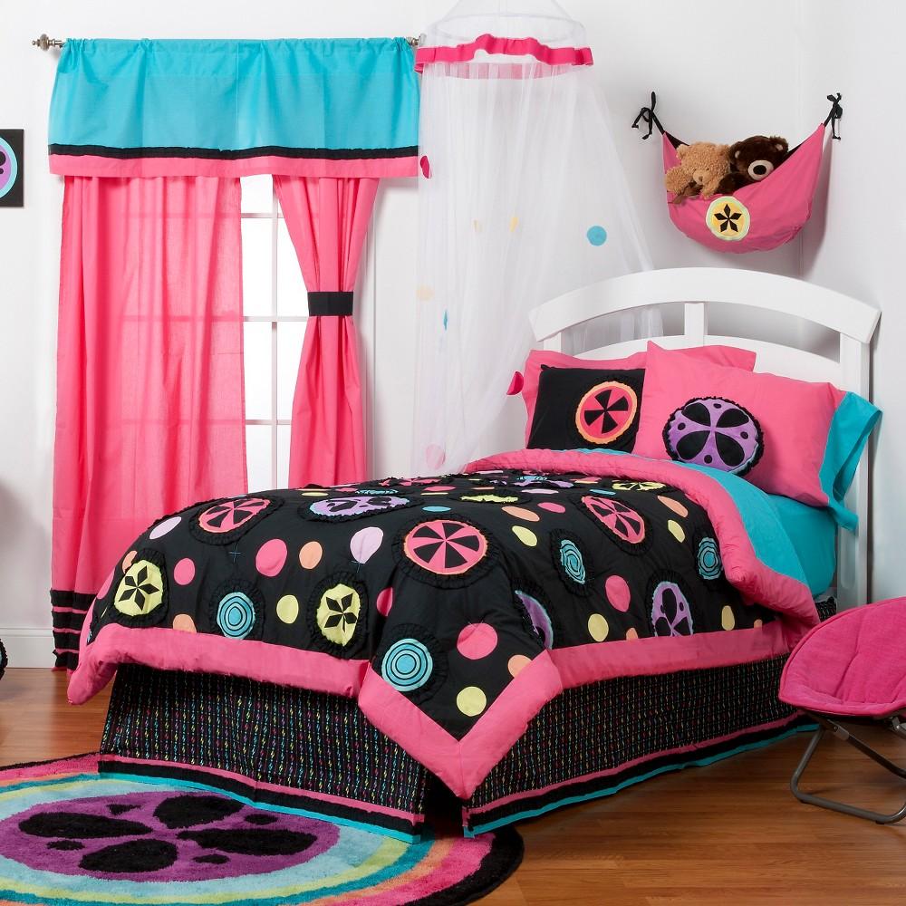 One Grace Place Magical Michayla 3 Piece Comforter Set - Multicolor (Twin), Multicolored